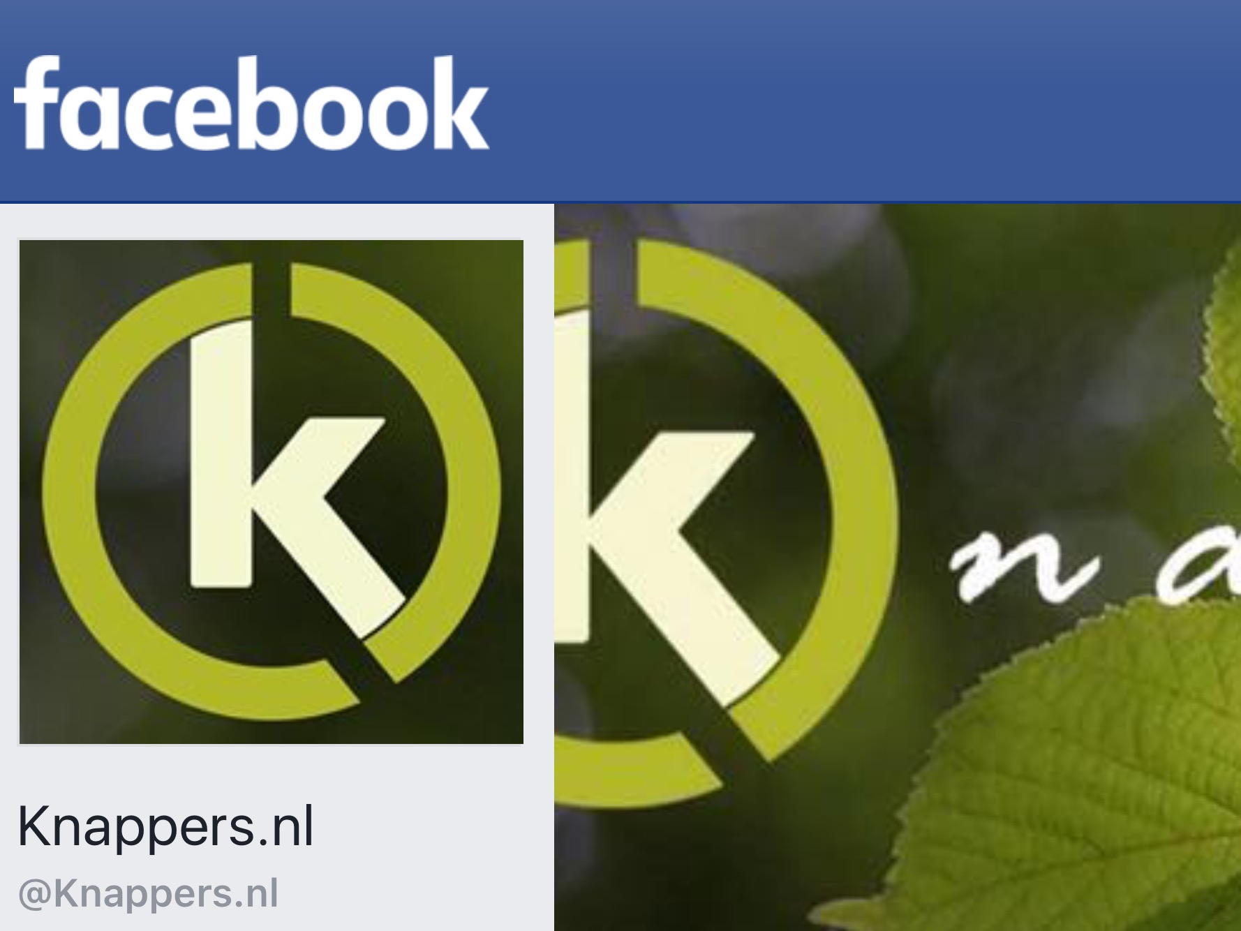 Knappers.nl op Facebook